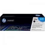 Cartucho toner p/HP laserjet preto CB540AB HPCX 1 UN