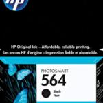 Cartucho HP 564 preto 7,5ml CB316WL HP CX 1 UN