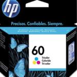 Cartucho HP 60 color CC643WB HP CX 1 UN